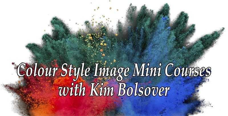 colour style image mini courses with Kim Bolsover