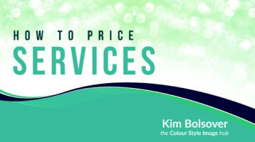 how to price your colour and style services