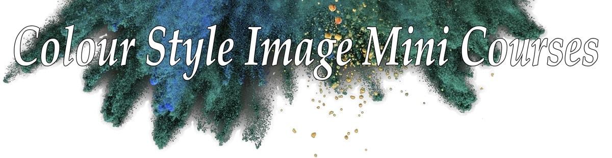 colour style image mini courses with Kim Bolsover