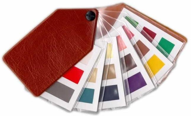 colour supplies - ladies safe tone fabric fans