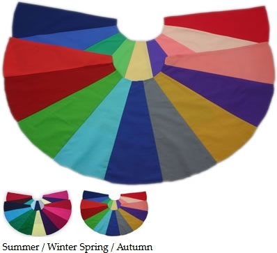 colour supplies - seasonal capes