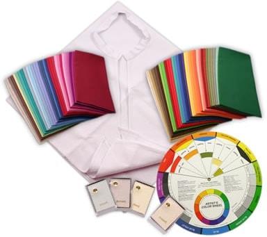 colour supplies - seasonal drape mini starter set