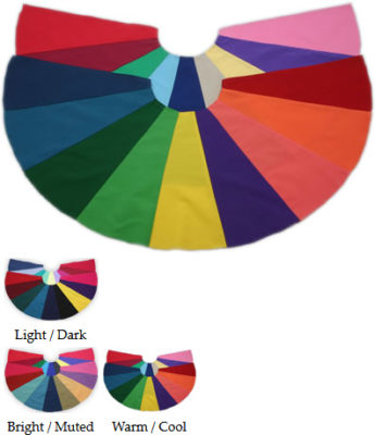 colour supplies - tonal capes