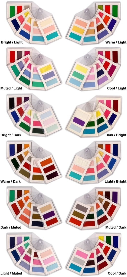 colour supplies - tonal fan add-on swatches