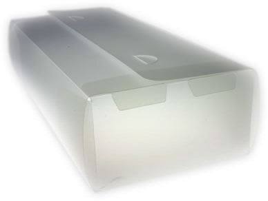 colour supplies - transparent drape case
